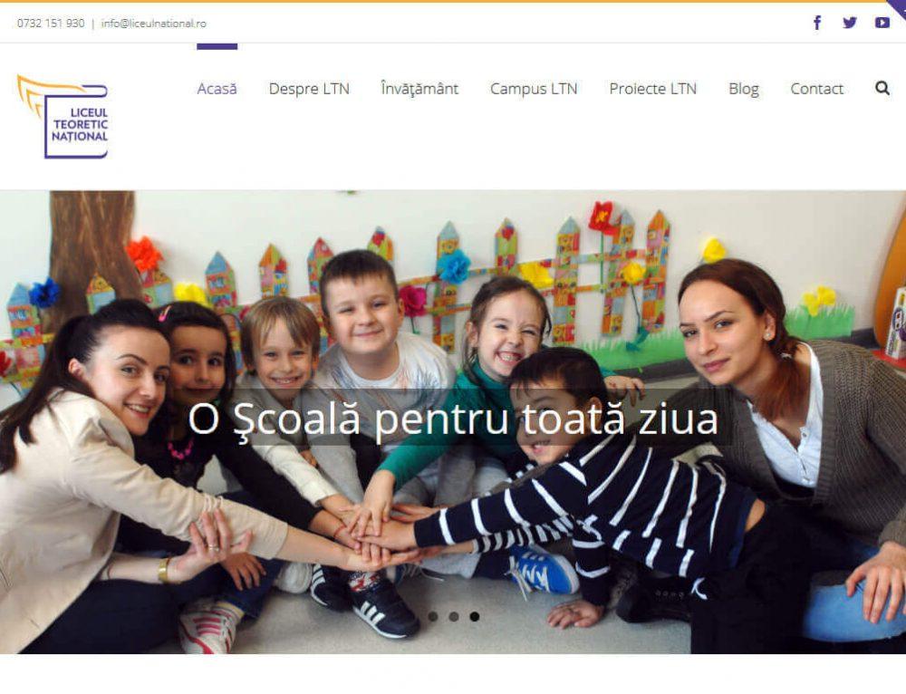 Lansare website LTN