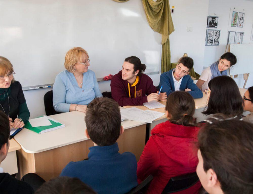 Ședința Consiliului Elevilor din LTN