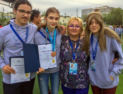 Recunoașterea pe plan internațional a Liceului Teoretic Național: Două premii la Olimpiada Internațională multidisciplinară